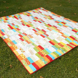 In-n-Out Jelly Roll Quilt