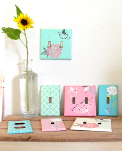 Simply Stunning DIY Designer Switch Plates