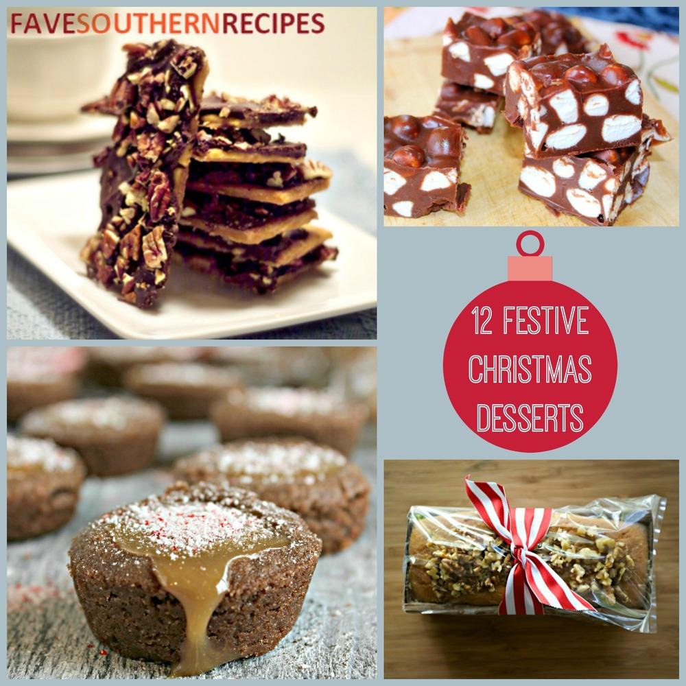 12 festive christmas dessert recipes