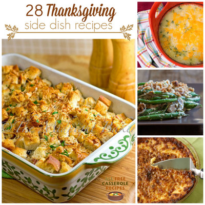 28 Thanksgiving Side Dish Recipes