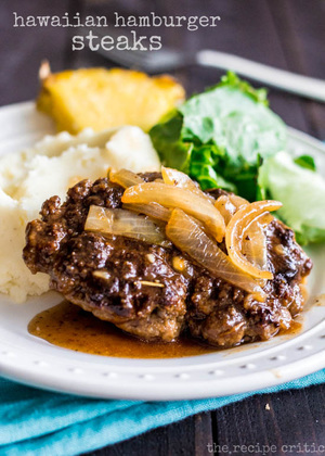Hawaiian Hamburger Steaks