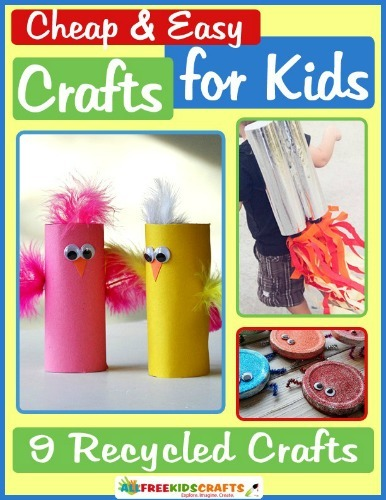 inexpensive craft ideas for kids cheap and easy crafts for 9 recycled crafts 6837