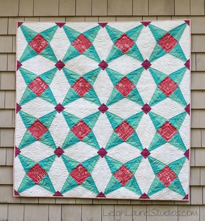 Fruit Ninja Paper Pieced Star Quilt | FaveQuilts.com : paper pieced star quilt patterns - Adamdwight.com
