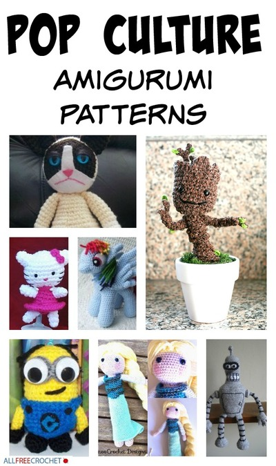 23 Pop Culture Amigurumi Patterns