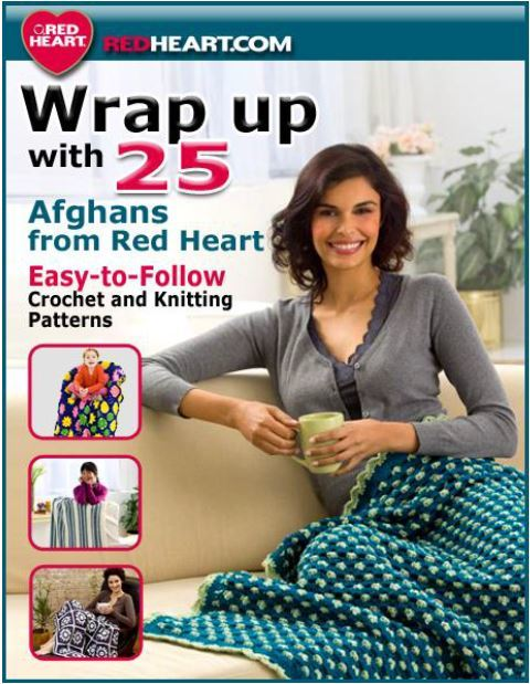 25 Afghan Patterns From Red Heart Yarn Ebook Allfreecrochet