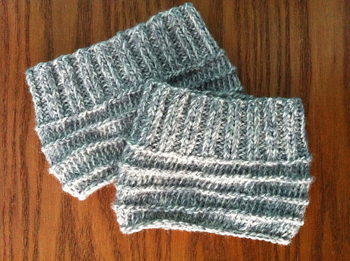 Easy Knit Boot Cuffs Allfreeknitting