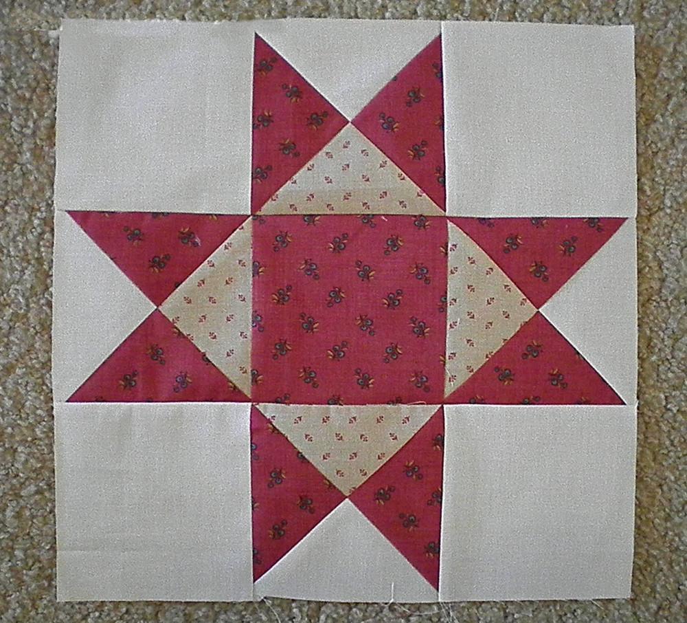 Aunt Eliza's Star | FaveQuilts.com : star quilt pattern - Adamdwight.com