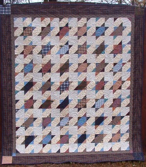 Smoky Mountain Stars Quilt