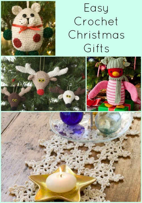 Free Crochet Pattern Christmas Gifts : 21 Easy Crochet Christmas Gifts FaveCrafts.com
