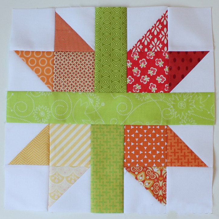 New England Cross Star Block Favequilts