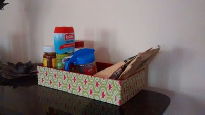 Simple Shoebox Organizer
