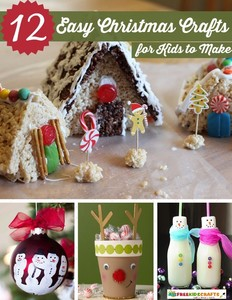 12 Easy Christmas Crafts for Kids to Make eBook