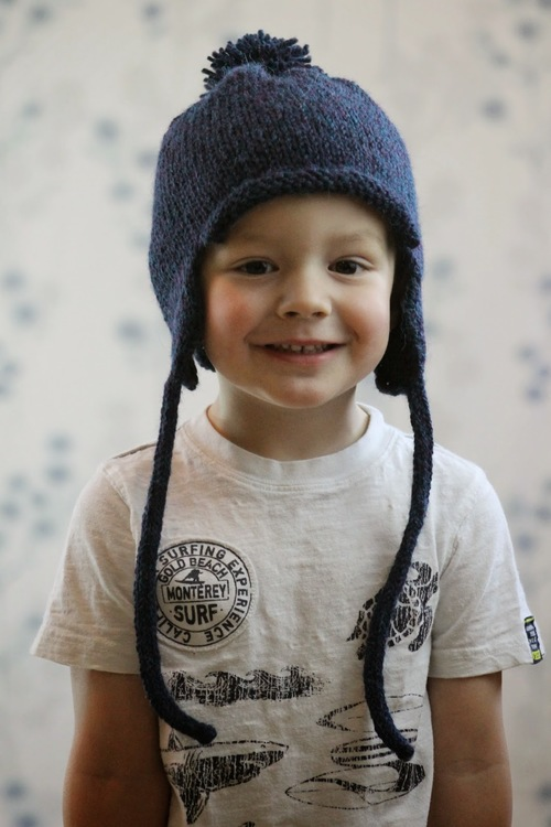 All in the Family Earflap Hat | AllFreeKnitting.com