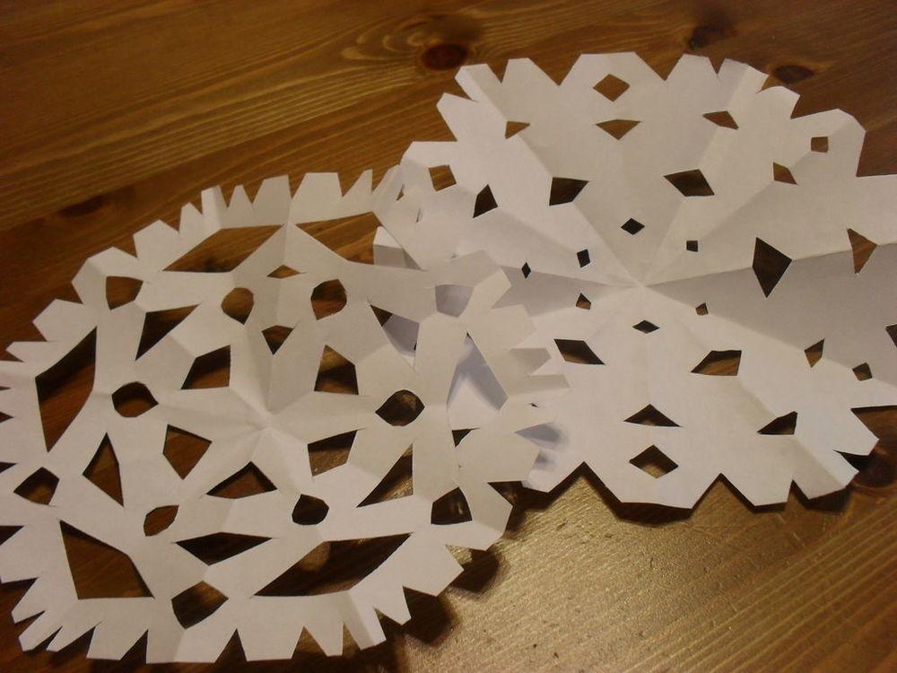 Easy Paper Snowflakes Allfreekidscrafts Com