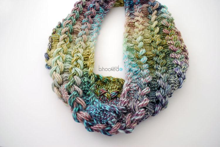 Hairpin Lace Infinity Scarf Allfreecrochet