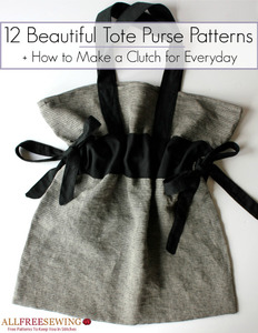 12 Beautiful Tote Purse Patterns eBook