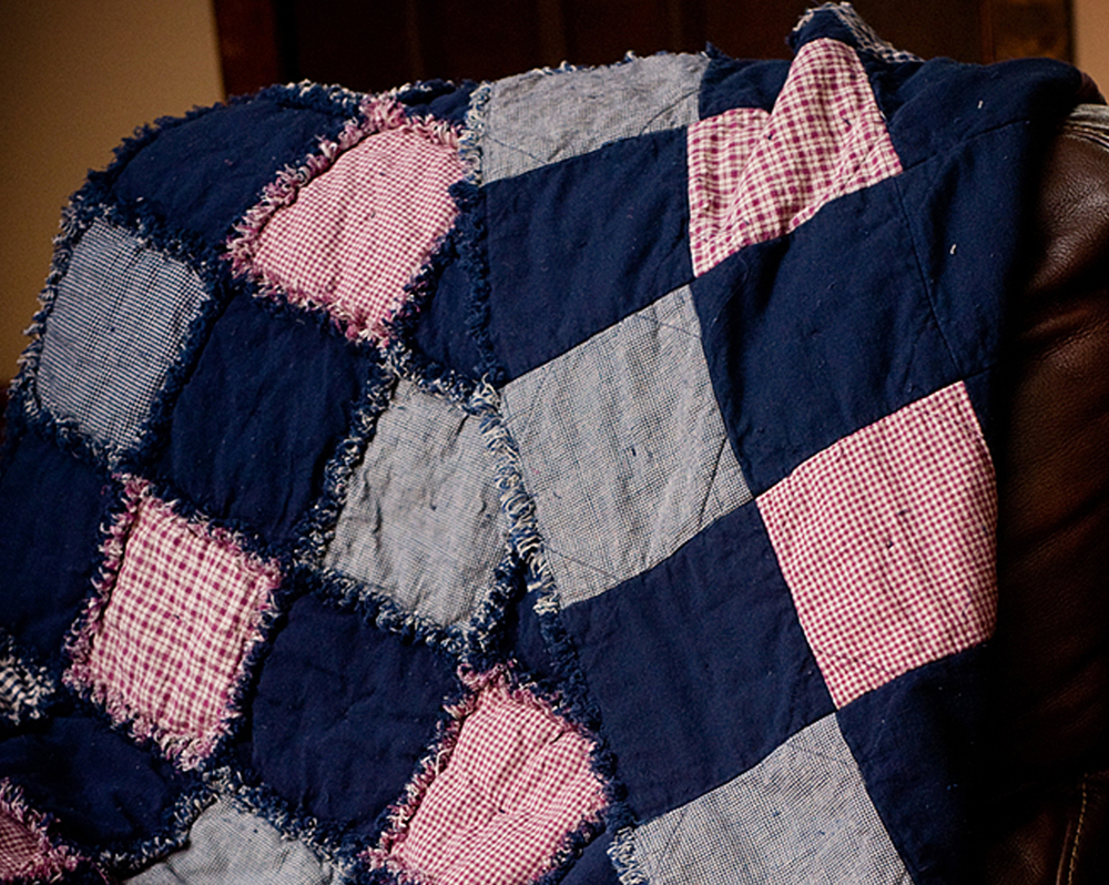 Fuss Free Rag Quilt Favequilts