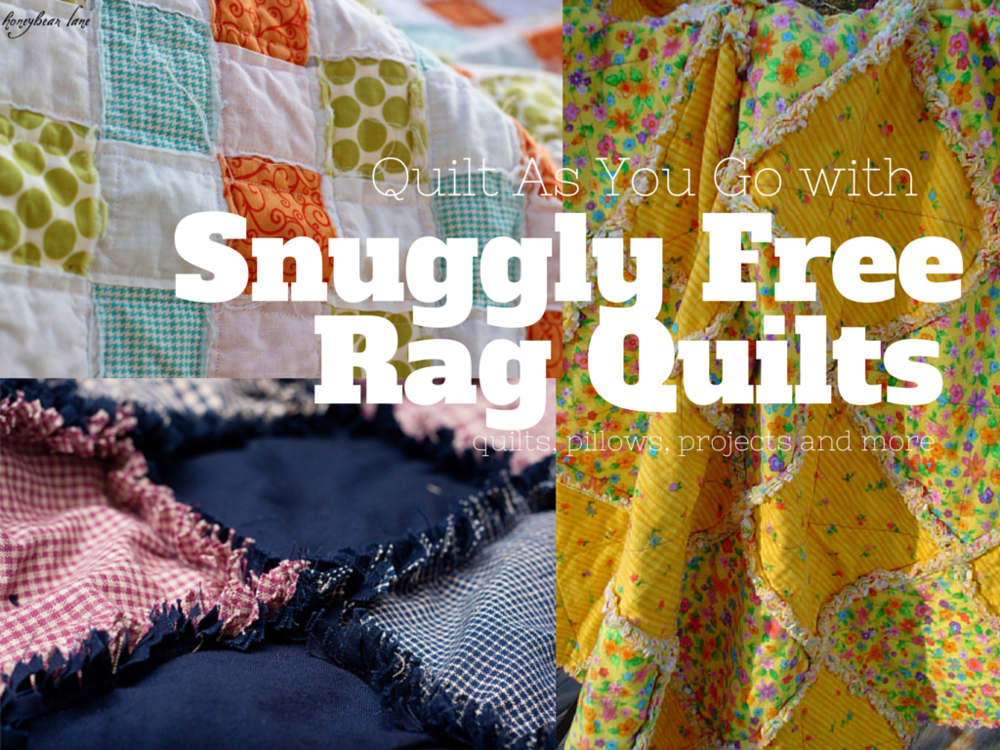 38 Snuggly Free Rag Quilt Patterns FaveQuilts.com
