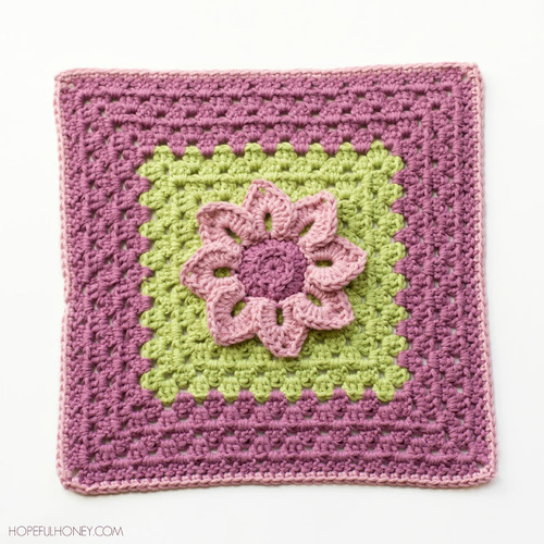 Water Lily Crochet Granny Square Pattern Unique Granny Square Crochet Patterns