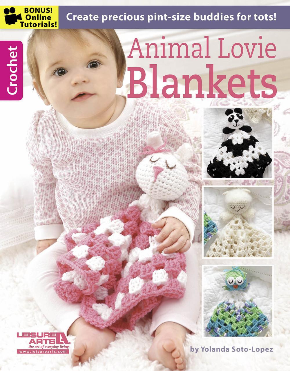 Animal Lovie Blankets | AllFreeCrochet.com
