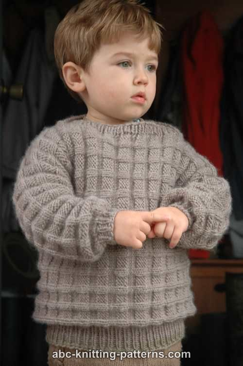 Little Boys Woodland Sweater