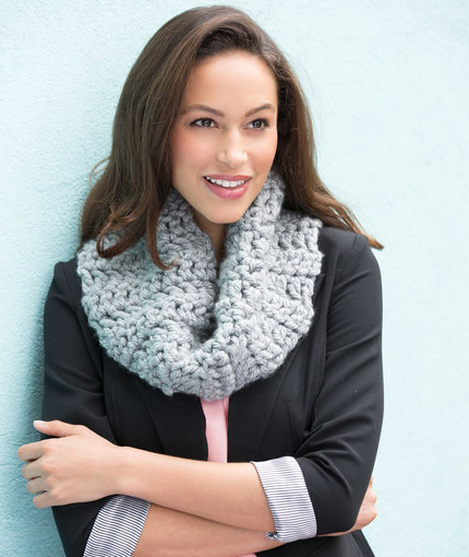 Chic and Classic Chunky Cowl