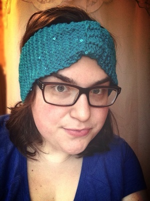 Garter Stitch Goodness Headband