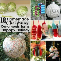 18 Homemade Christmas Ornaments for a Happy Holiday