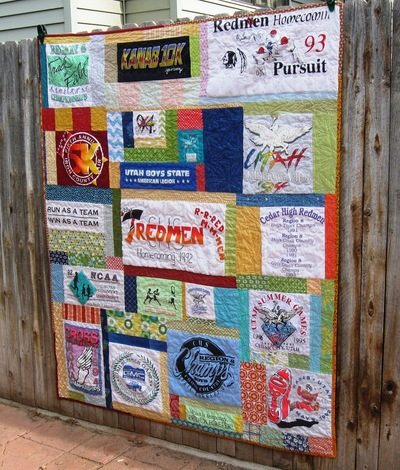 T Shirt Memory Quilt Favequilts