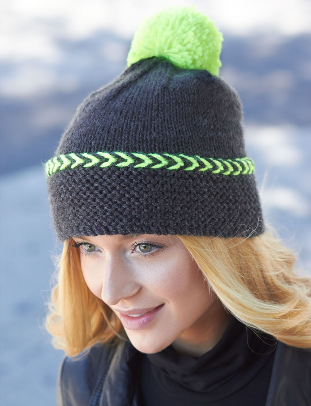 Free Knitted Hat Patterns Magnificent Inspiration Design