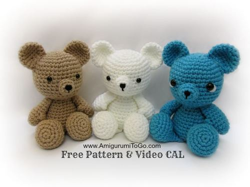 Irresistibly Darling Crochet Bears