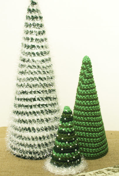 if you need to spruce up your holiday decor these insanely fast and easy christmas trees should definitely be at the top of your christmas crochet patterns