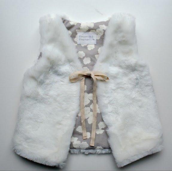 Cuddlebug Diy Faux Fur Vest Allfreesewing