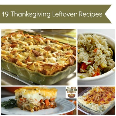 19 Thanksgiving Leftover Recipes