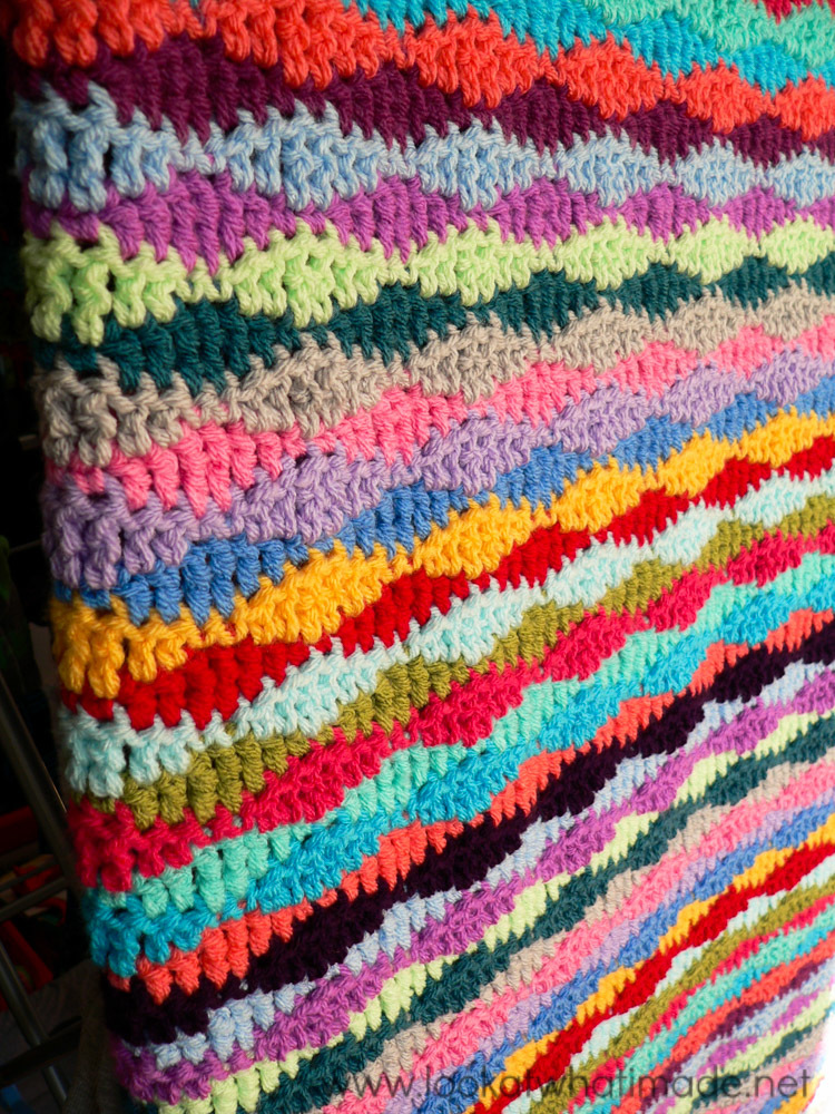 Lazy Waves Crochet Blanket Pattern Allfreecrochetafghanpatterns