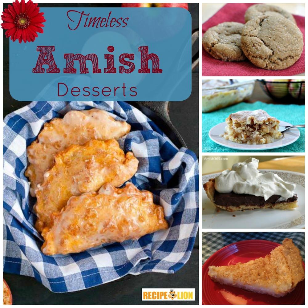 21 Timeless Amish Recipes for Dessert | RecipeLion.com