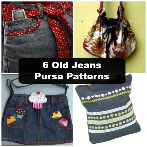 6 Old Jeans Purse Patterns Favecrafts Com