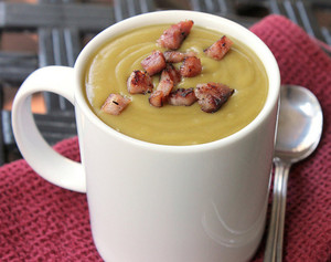World's Best Split Pea Soup with Bacon Bits