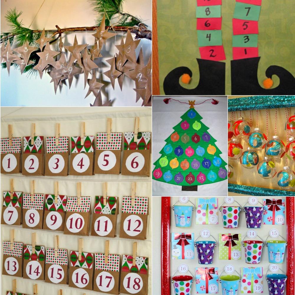 Handmade Calendar Ideas Kids : Fun christmas ideas diy advent calendar crafts