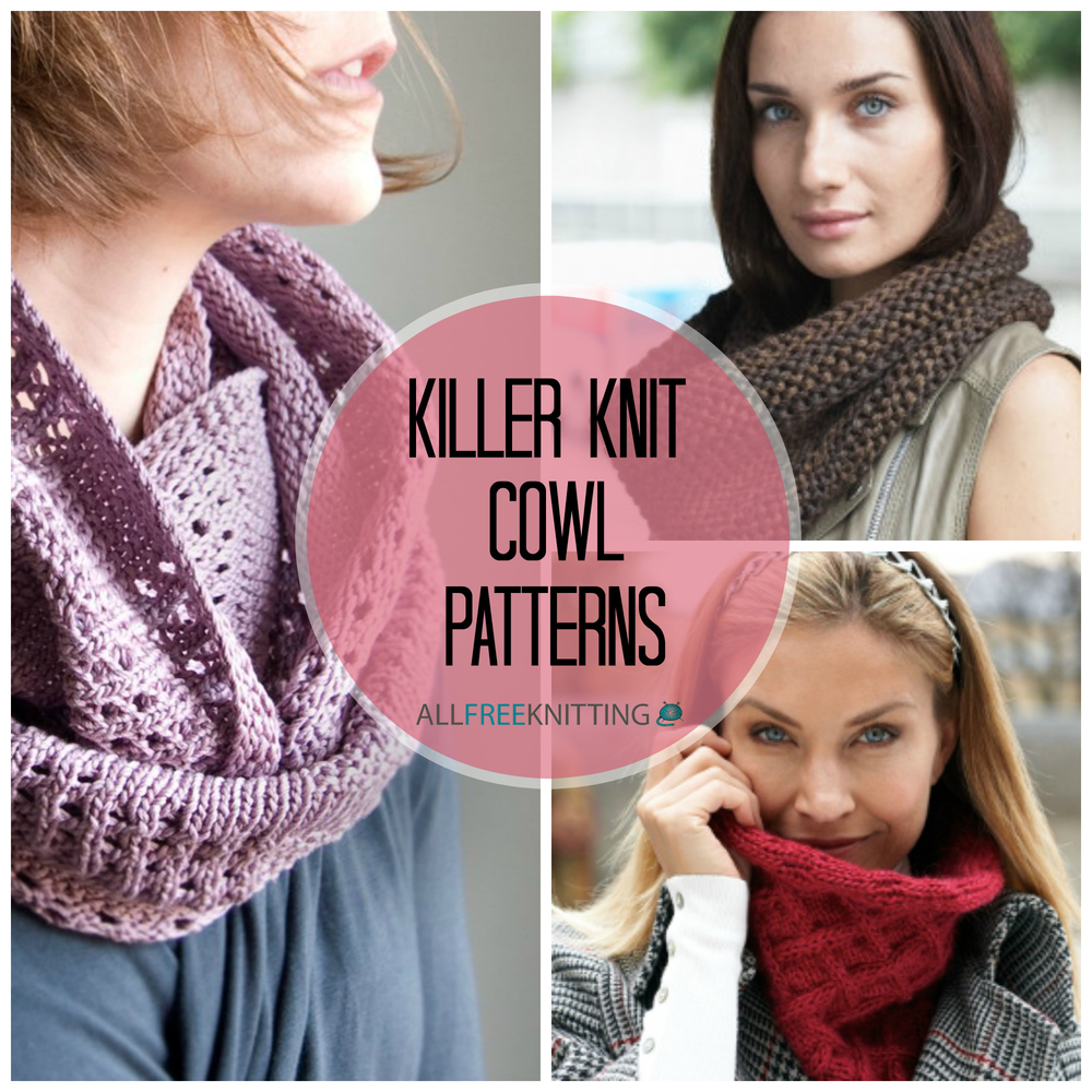 Luxury Knitted Cowl Scarf Pattern Pattern - Easy Scarf Knitting ...