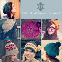 66 Knit Hat Patterns for Winter