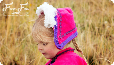 Snow Princess Easy Hat Pattern