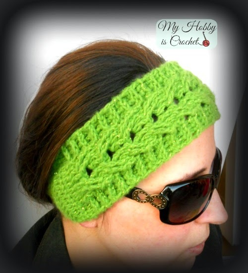 Free Crochet Ribbed Headband Patterns : Everyones Favorite Cabled Headband AllFreeCrochet.com