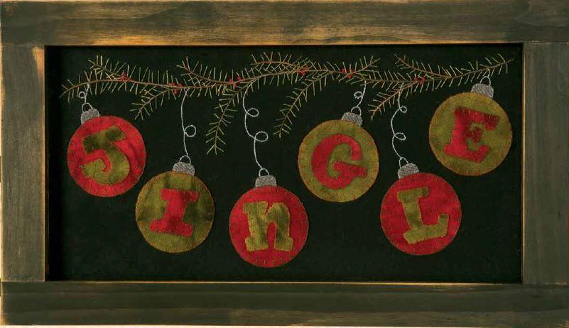 Jingle Wool Applique Design Favequilts Com