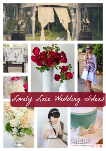 50 Lovely Lace Wedding Ideas