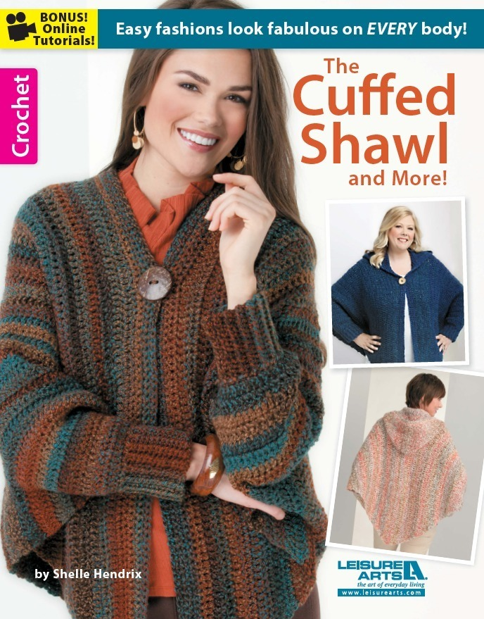 The Cuffed Shawl And More Allfreecrochet