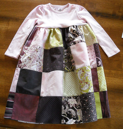 Charming Patchwork Baby Dress | FaveQuilts.com : quilted baby coat - Adamdwight.com