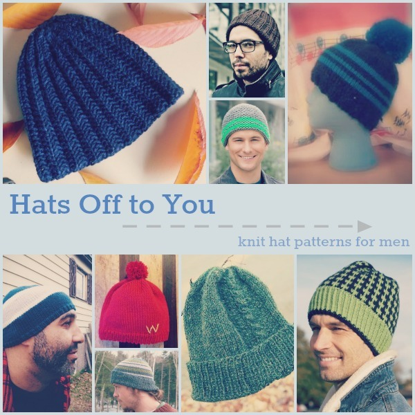 Hats Off to You: 20 Knit Hat Patterns for Men | AllFreeKnitting.com