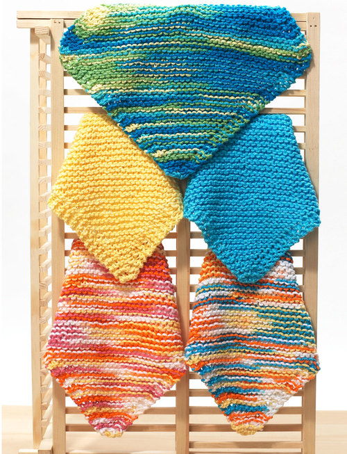 Easy Knit Dishcloth Pattern Favecrafts