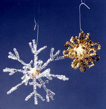 Let it Snow Christmas Ornaments